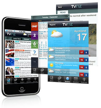 TVNZ News iPhone app