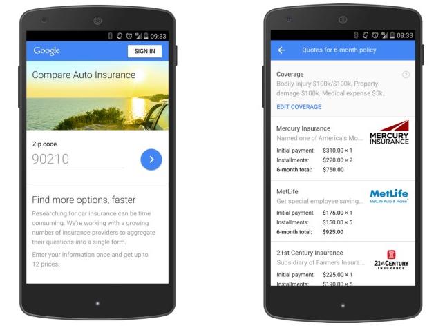 google-compare-car-insurance