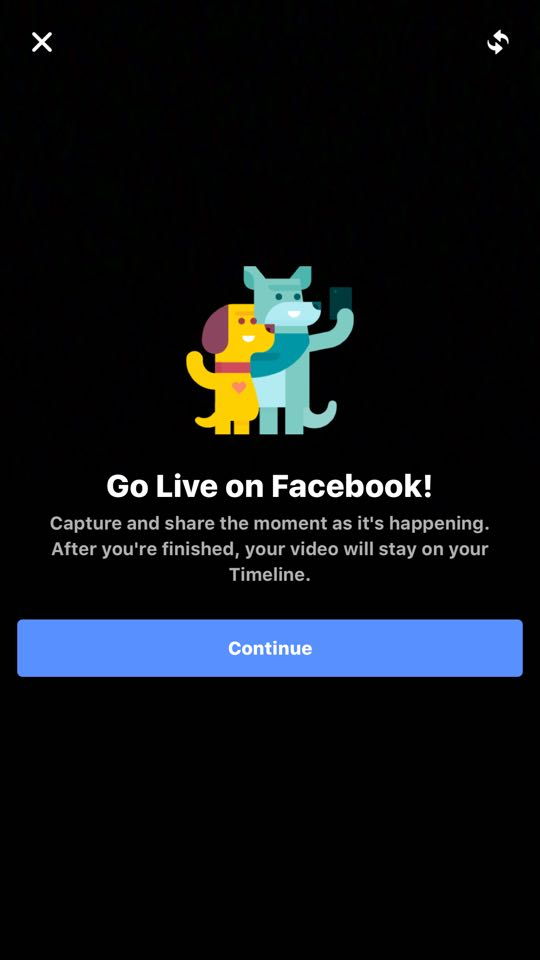 FB Live Feed Screenshot
