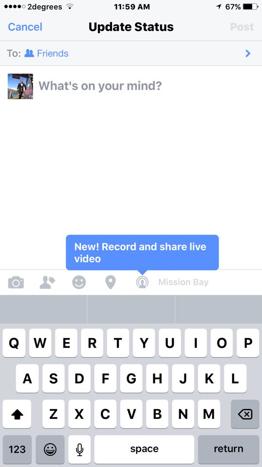 Facebook Live Feed
