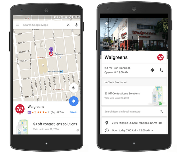 Google Maps Promoted Pin Ads