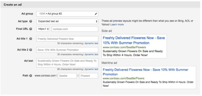bing-ads-expanded-text-ads-interface