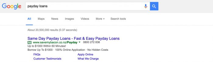 Save My Bacon Payday Loans