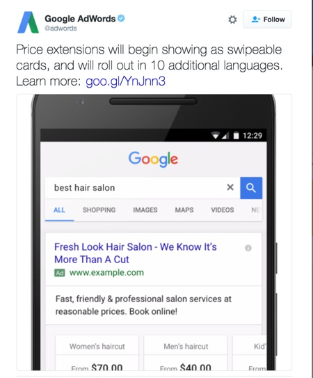 google-price-extensions