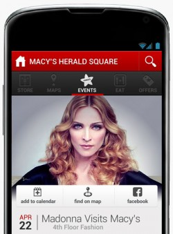 Macy's iOS app designed by Raizlabs