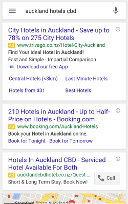 auckland hotels cbd