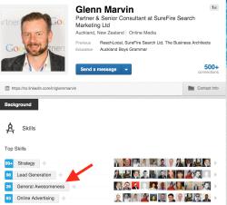 Glenn Marvin LinkedIn