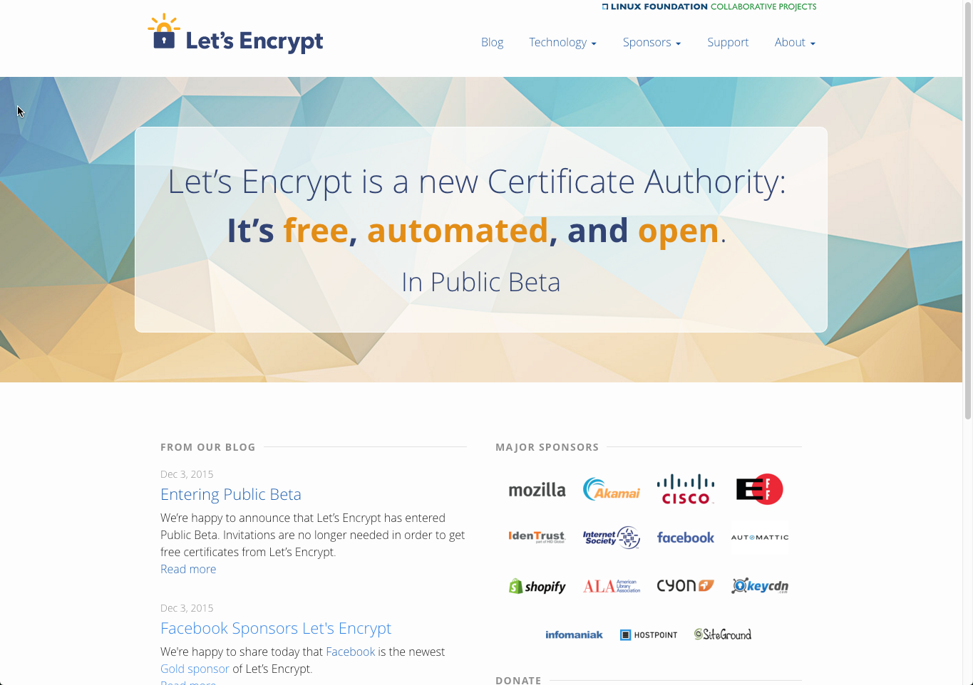 How to get a free ssl certificate surefire search marketing lets encrypt was developed to make getting and managing ssl certificates both 1betcityfo Choice Image