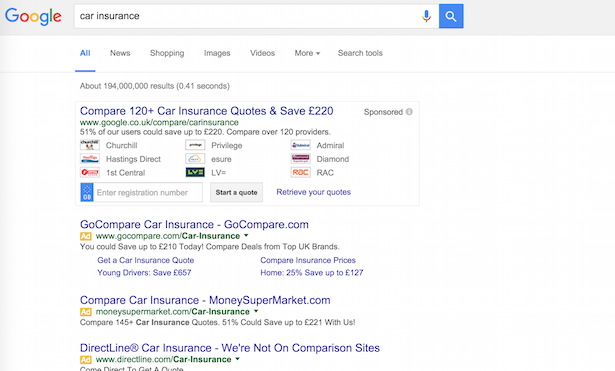 Google-compare-serps