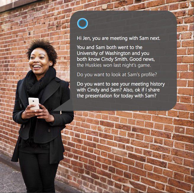 Bing Cortana