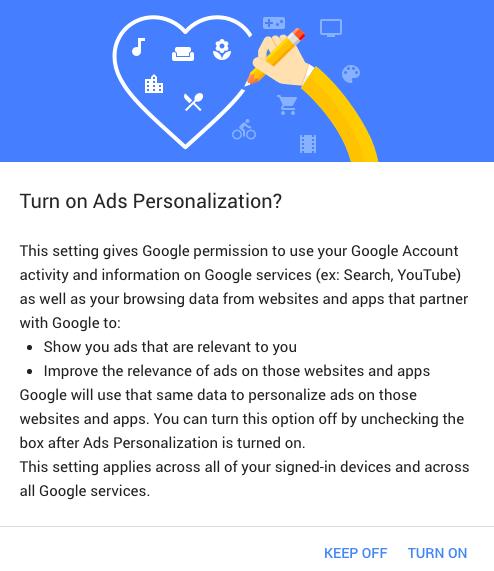 Ads Personalization 2