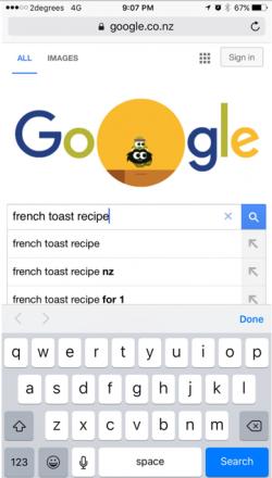 Google AMP demo