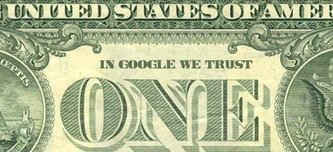 In Google we trust...