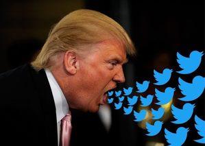 Trump Twitter addict
