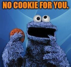 Cookie rejection